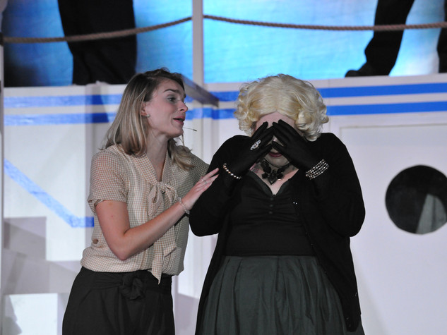 Anything Goes | Hope & Evangeline Harcourt | Edge Hill Players