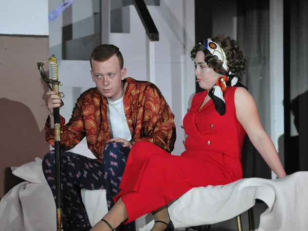 Anything Goes | Lord Evelyn Oakleight & Reno Sweeney | Edge Hill Players 2018
