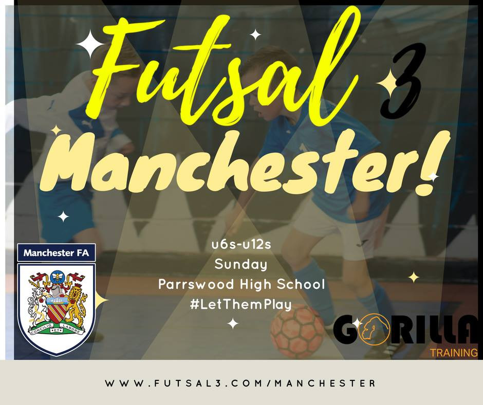 Futsal3 is coming to Manchester!