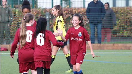 Kingsway Athletic FC Girls Football Training