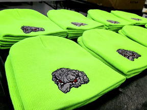 embroidered logo hats - we make t shirts