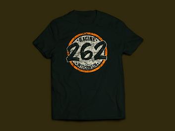 Racine Wisconsin 262 badge T-Shirt