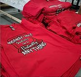 Screen Printed School Spritwear - Racine Wisconsin - We Make T-Shirts