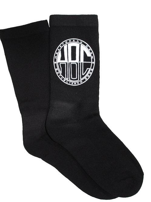 HBC Black Socks