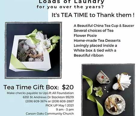 Tea Time Fundraiser