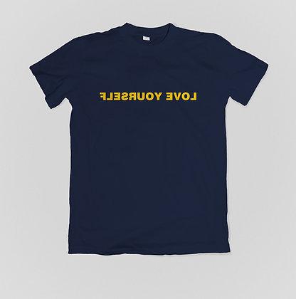Love Yourself T-Shirt (Navy & Maize)