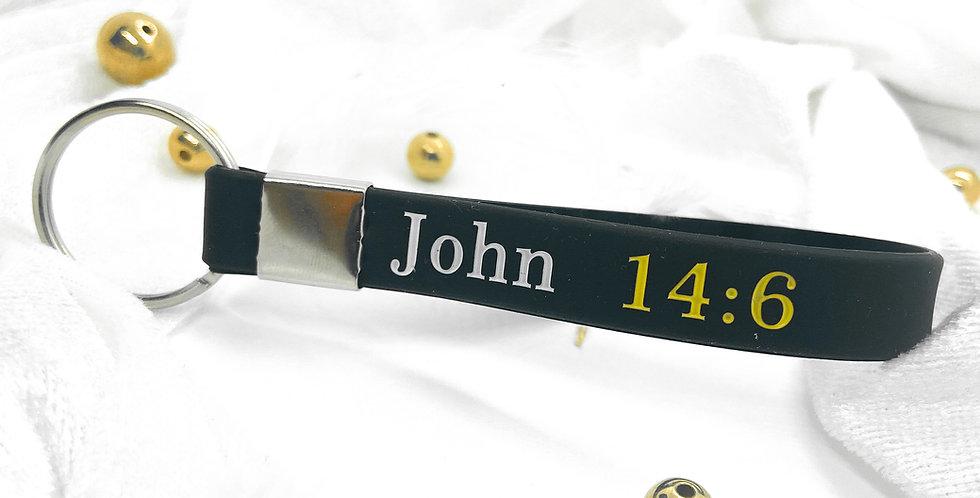 John 14:6 Schlüsselanhänger