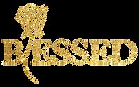 Blessed Reg 981 Logo Gold-glitter.png