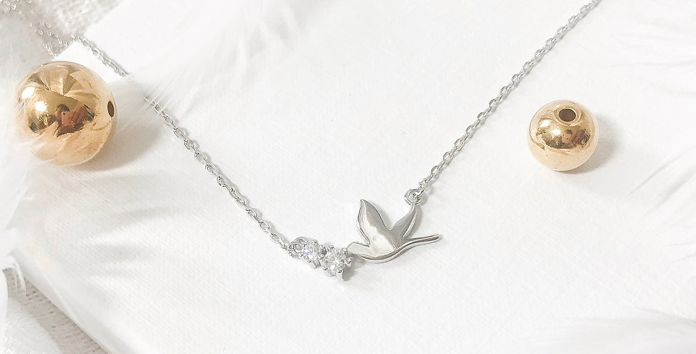 little dove of peace necklace