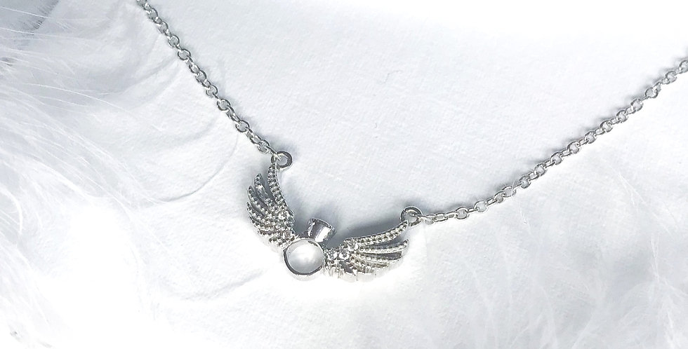 Angle Ring Necklace