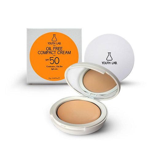 YL Oil Free Compact Cream SPF50 light color - combination/oily skin