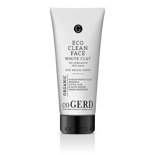 Eco Clean Face White Clay 200ml