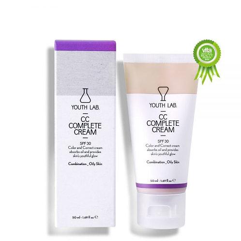 YL CC Complete Cream SPF30 combination-oily skin 50ml