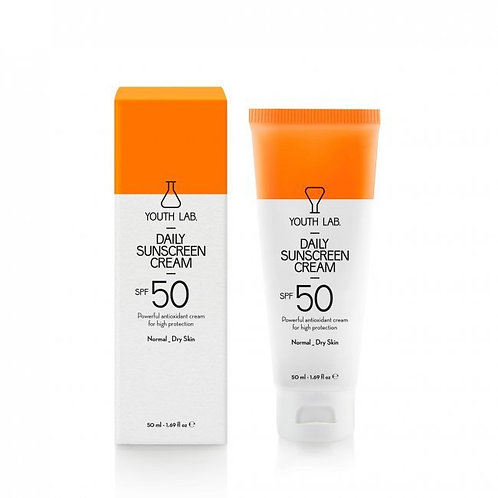YL Daily Sunscreen SPF50 tinted 50ml (normal/dry skin)