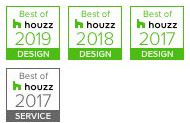 Platinum Companies of Scottsdale, Arizona Awarded Best Of Houzz 3 years in a row.