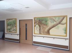 廊下の松並木