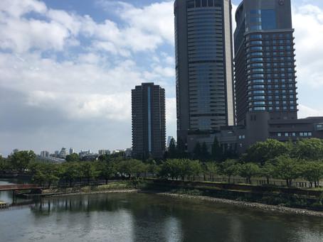 大阪にて、プレゼン。結果は