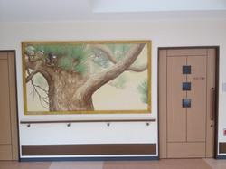 廊下の絵をきっかけに