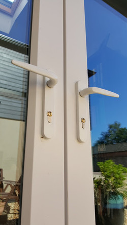 Key aliked cylinders for Patio doors