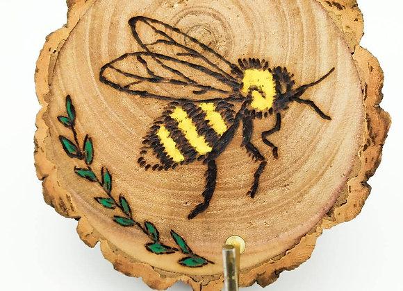 Bee Pyrography, Key Hook