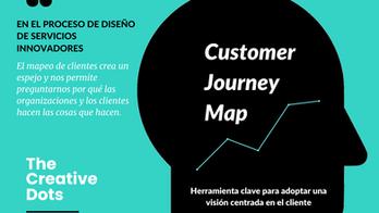 El Customer Journey Map como herramienta clave para adoptar una visión centrada en el cliente.
