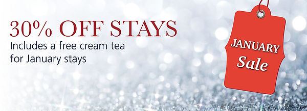 January Sale at The Falcon Hotel