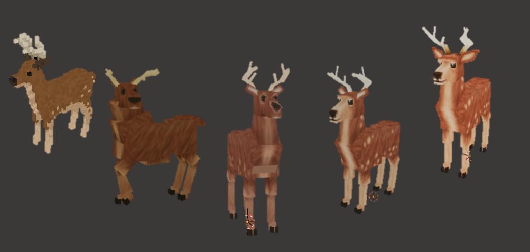 Evolution of the Deer