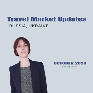 Travel market updates - October 2020. Russia & Ukraine