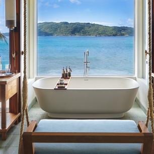 Четыре роскошные ванные комнаты курортов Six Senses Hotels Resorts Spas