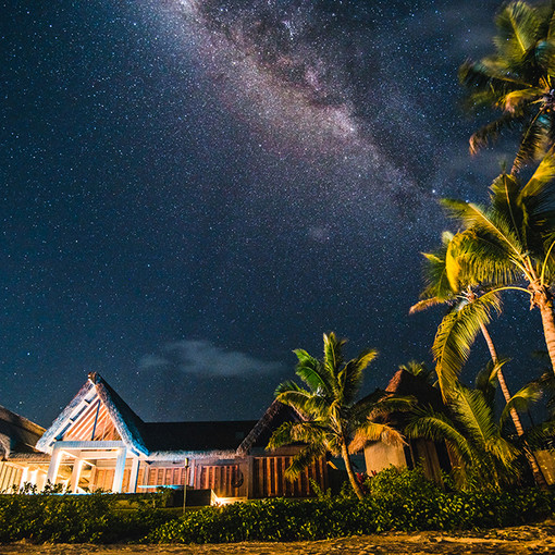 Stars over Beachfront Residence