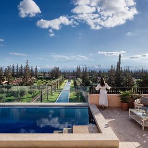 Отель The Oberoi Marrakech – архитектурно-историческое великолепие среди пышных садов