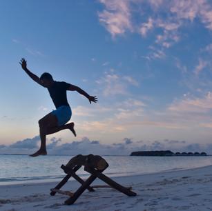 Ни дня без тренировки - в Kanuhura 5* Maldives