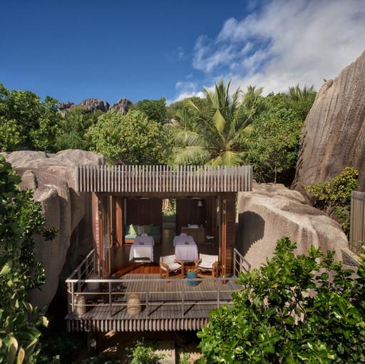 Spa Exterior Treatment-Villa-Rock