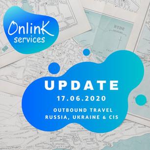 Update from OnLink: Travel Market situation in Russia, Ukraine and Kazakhstan June,17 2020