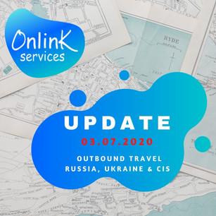 Update from OnLink - Russia, Ukraine, Kazakhstan - July 03, 2020