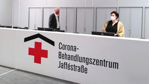 Planung, Bau und Brandschutz in Rekordzeit: Das Berliner Corona-Behandlungszentrum ist eröffnet