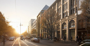 """""""Veränderung muss sein"""" - Das neue Quartier AM TACHELES führt Berliner Stadtgeschichte fort"""