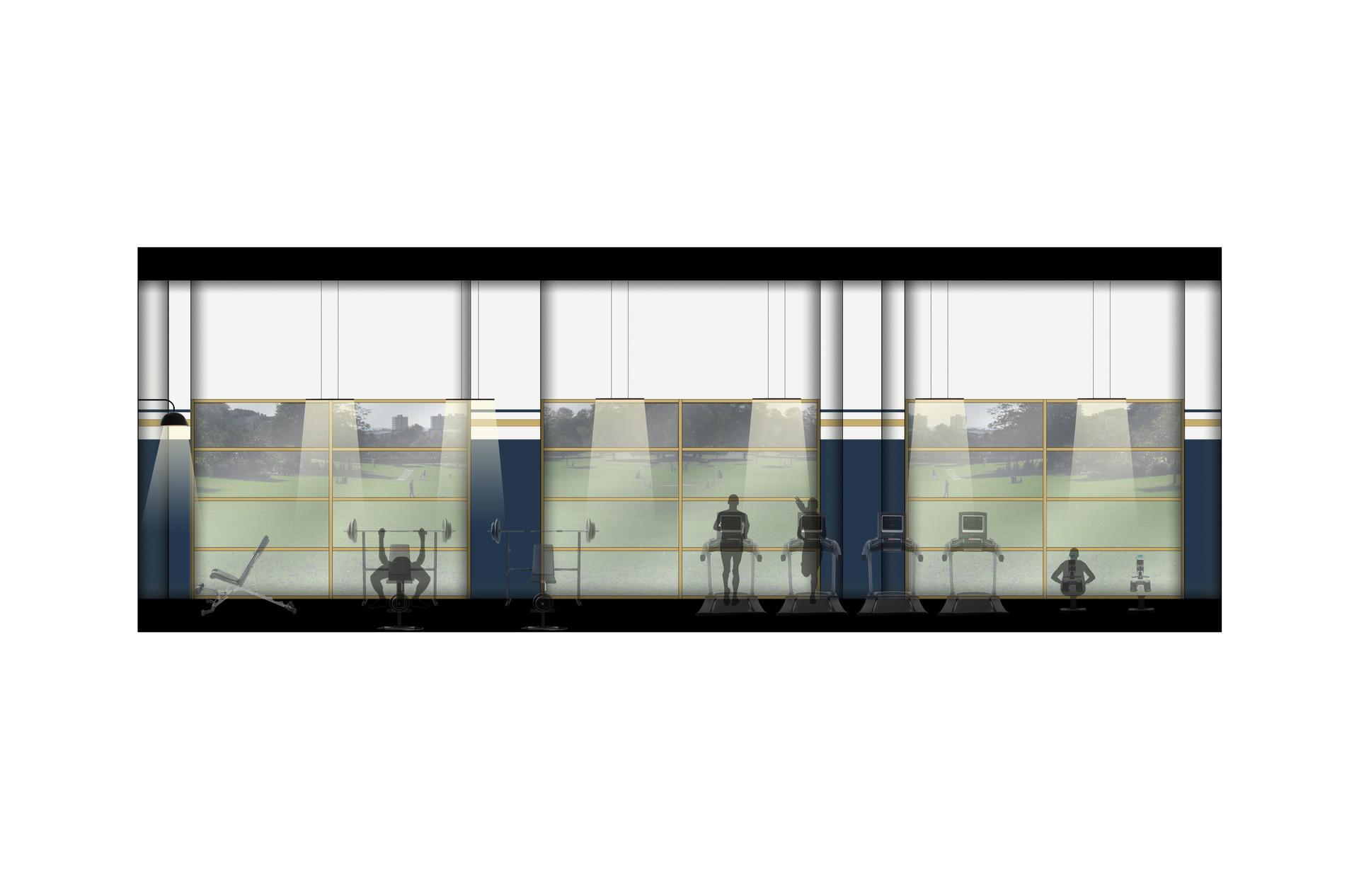 LVL1_Fitness_Garage Door Wall.jpg