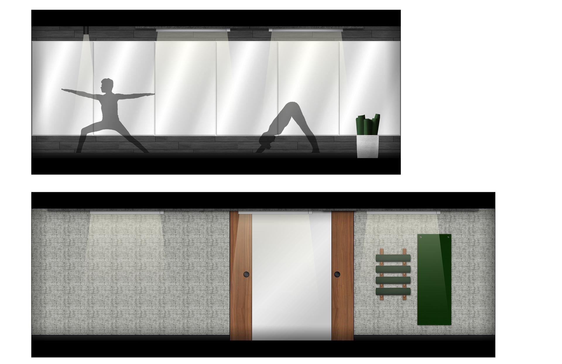 LVL 2 Yoga Room_Green Accent.jpg