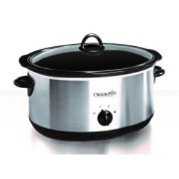 Crock-Pot Stainless 5-Qt. Slow Cooker