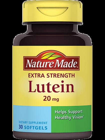Lutein 20 mg Liquid Softgels