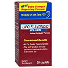 LIPO FLAVONOID Plus Extra Strength Ear Health Caps, 30 Count