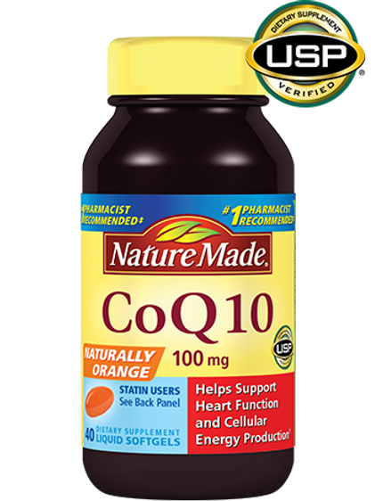 CoQ10 100 mg Liquid Softgels