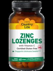 Country-Life,Zinc Lozenges Cherry Flavor