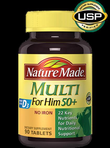 Multi For Him 50+ Tablets
