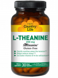 Country-Life, L-THEANINE with Vitamin B-6