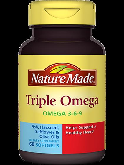 Triple Omega Liquid Softgels