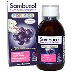 Sambucol Black Elderberry Syrup for Kids, 7.8 Fluid Ounce