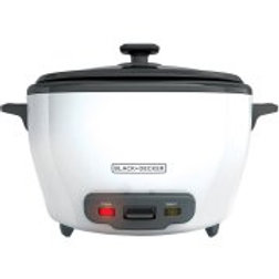 BLACK+DECKER 28-Cup Rice Cooker and Steamer Basket