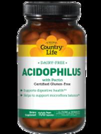 Country-Life, Dairy-Free Acidophilus (100-Vegicaps)